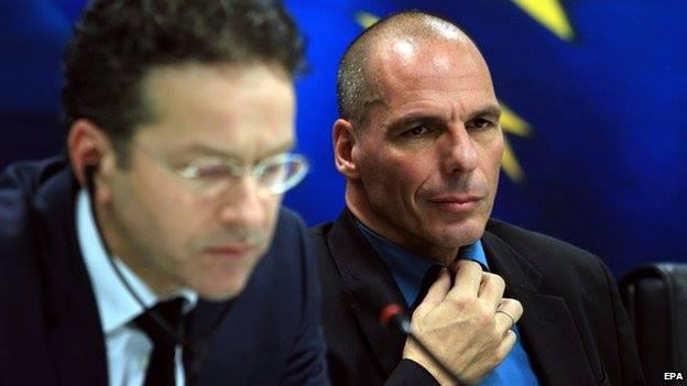 Dijsselbloem e Varoufakis