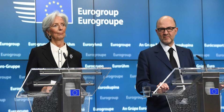 Christine Lagarde e Pierre Moscovici