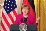 Angela Merkel na Casa Branca