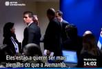 """Os governos de Portugal e Espanha """"estão a querer ser mais alemães do que a Alemanha"""", desabafou Varoufakis ao correspondente da RTP após a reunião do Eurogrupo."""