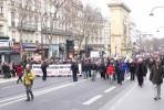 Manifestação de 15 de fevereiro em Paris