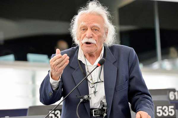 Manolis Glezos. Foto GUE/NGL