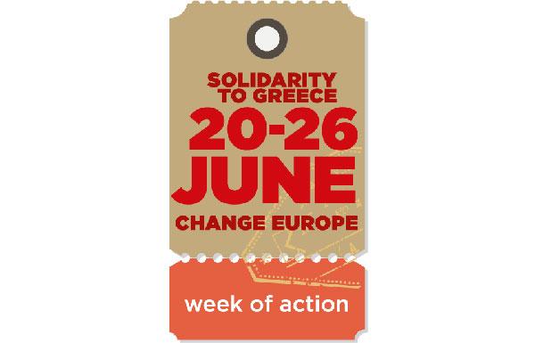Semana europeia de solidariedade com a Grécia