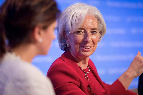 Christine Lagarde. Foto FMI/Flickr