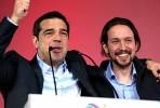 Alexis Tsipras e Pablo Iglesias