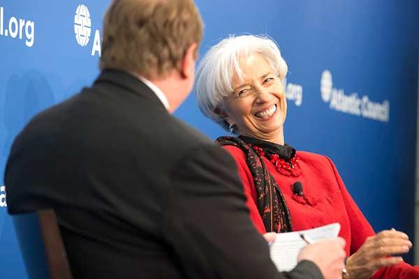 Christine Lagarde, Foto Stephen Jaffe/FMI
