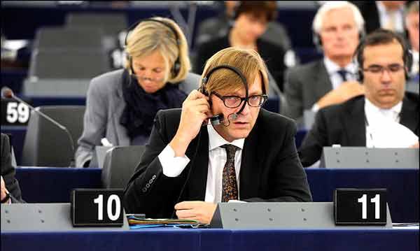 Guy Verhofstadt. Foto Parlamento Europeu/Flickr