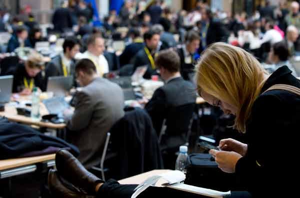 Jornalistas. Foto União Europeia ©