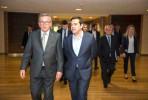 Jean-Claude Juncker e Alexis Tsipras