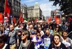 Manifestação em Bruxelas - 21 junho 2015. Foto @Giaoutris / Twitter