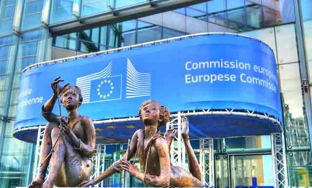 Sede da Comissão Europeia em Bruxelas. Foto GlynLowe.com