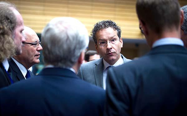 Dijsselbloem na reunião do Eurogrupo de 22 junho 2015. Foto União Europeia ©