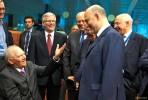 Schäuble, Moscovici e os ministros das Finanças de Itália, Malta e Lituânia no Eurogrupo de 27 de junho de 2015. Foto União Europeia ©