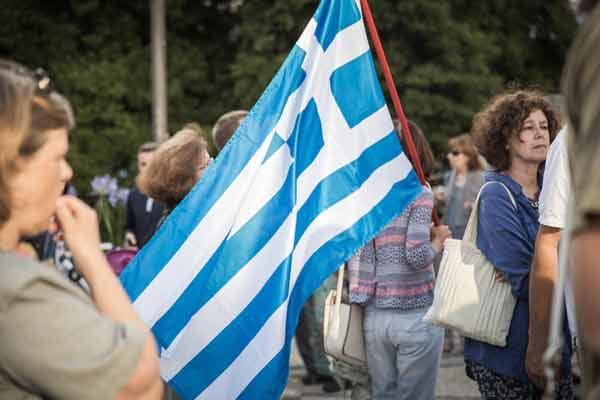 Concentração de solidariedade no Porto - 25 junho 2015. Foto Adriana Melo