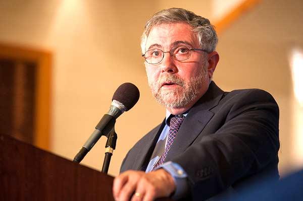Paul Krugman. Foto Ed Ritger/Commonwealth Club/Flickr