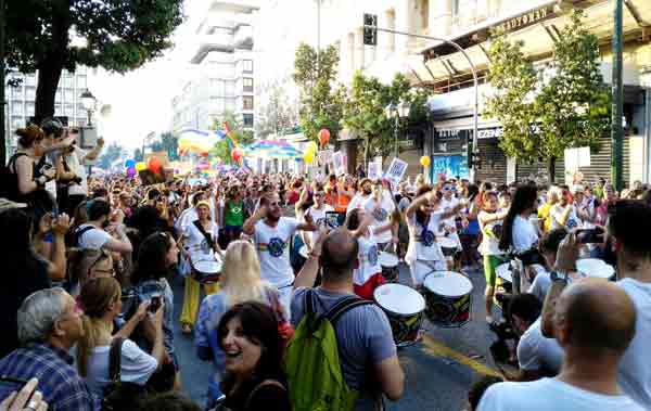 Pride em Atenas 2015. Foto Λέγε με Μαρία