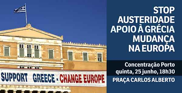 Concentração Porto 25 junho