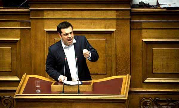 Alexis Tsipras no Parlamento - 27 junho 2015