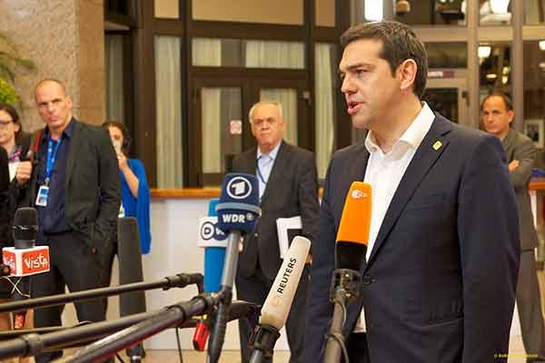 Alexis Tsipras. Foto União Europeia ©