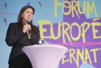 Zoe Konstantopoulou no Fórum Europeu das Alternativas, em Paris