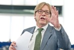 Guy Verhofstadt. Foto Parlamento Europeu.