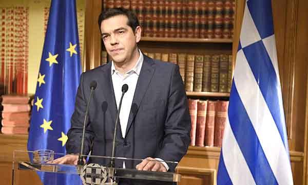 Alexis Tsipras, 1 julho 2015