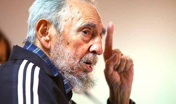 Fidel Castro. Foto Roberto Chile/Cubadebate