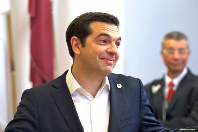 Alexis Tsipras na cimeira de 7 de julho. Foto União Europeia ©