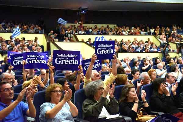 Sessão pública no Fórum Lisboa, 2 julho 2015. Foto Paulete Matos