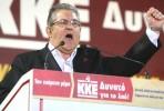 Dimitris Koutsoumbas, líder do KKE
