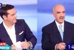 Tsipras e Meimarakis no frente a frente televisivo