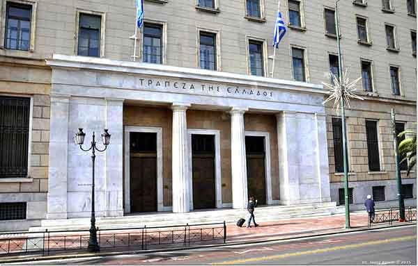 Banco da Grécia. Foto János Korom Dr./Flickr