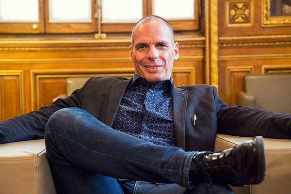 Yanis Varoufakis. Foto Marc Lozano/Fickr