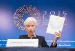 Christine Lagarde na abertura da Assembleia do FMI em Lima, Peru. Foto FMI/Flickr
