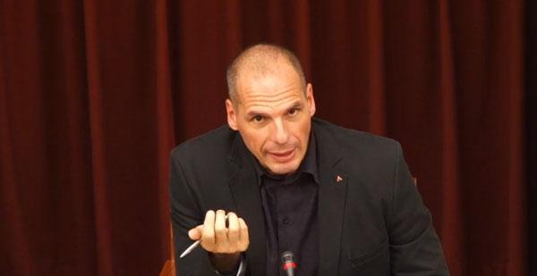 Yanis Varoufakis em Coimbra