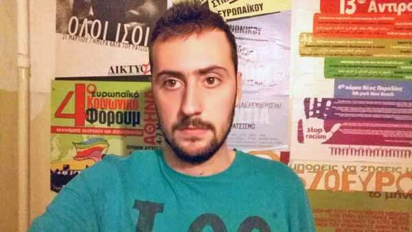 Dimitris Arkoudis, da juventude do Syriza
