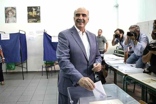 Evangelos Meimarakis. Foto Nova Democracia/Flickr