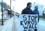 Manifestação em Evros. Foto @Lihtenvalner/Twitter