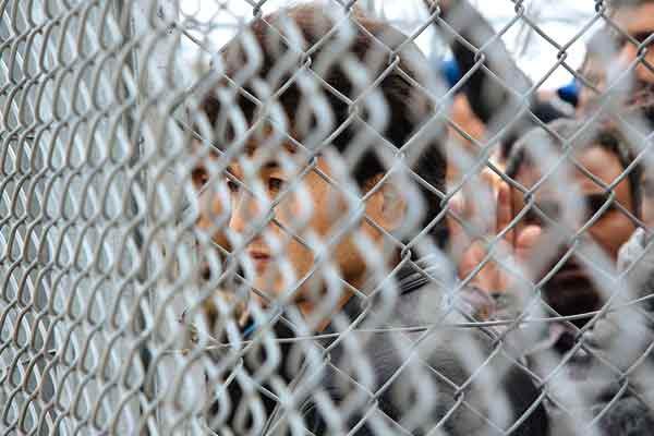 Refugiados. Foto Letft.gr