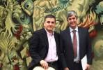 Euclid Tsakalotos e Mário Centeno no Ministério das Finanças em Lisboa