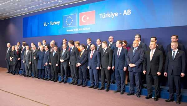 Cimeira UE/Turquia de 7 março 2016. Foto União Europeia ©