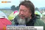 Ai Weiwei em Idomeni