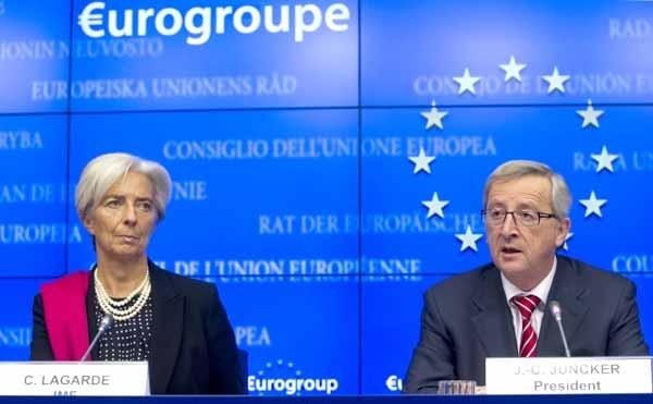 Lagarde e Juncker. Foto União Europeia ©