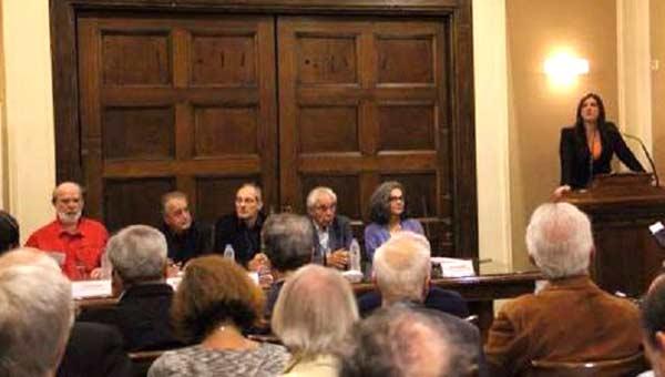 Sessão da comissão para a auditoria à dívida grega. Foto CADTM