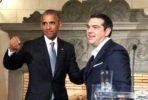 Obama e Tsipras em Atenas