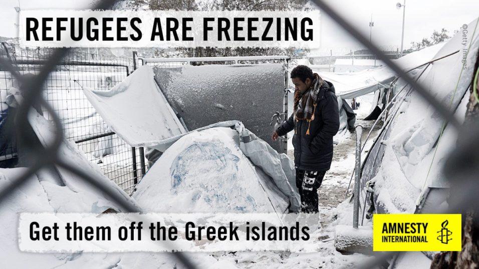 Amnistia Internacional sobre refugiados